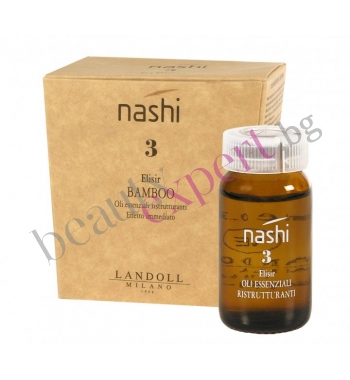 NASHI – №3 - BAMBOO - Реструктуриращи ампули за коса с екстракт от бамбук - 6x10ml