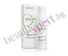GIGI - Retinol Forte - Нежен лосион-пилинг за лице за мазна и смесена кожа