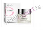 GIGI - Vitamin E - Овлажняващ крем за лице с Витамин Е SPF 17 за нормална и суха кожа