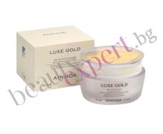 AINHOA - Luxe Gold Cream With Caviar Extract – 24 часов крем за лице с хайвер и злато