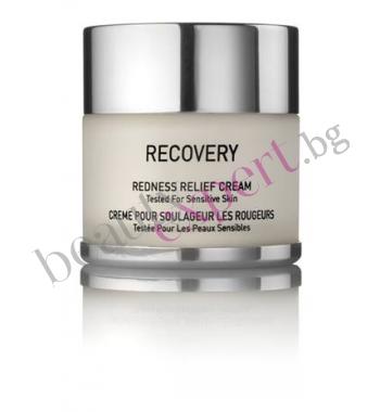 Gigi - Recovery - Нощен крем за лице против зачервяване и раздразнения