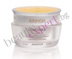 AINHOA - Luxe Gold Eye Essence - Eсенциален крем за очи с хайвер и злато