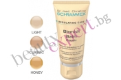 Dr. Schrammek - Успокояващ антисептичен 'Blemish' балсам с цвят 'Honey'