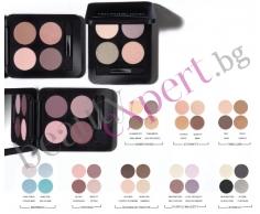 Youngblood - Pressed Mineral Eyeshadow - Минерални сенки компакт - комплект 4 цвята