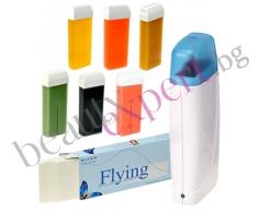 Стартер пакет за кола маска в домашни условия - 2 бр. пълнители, уред за затопляне и 50бр. нaрязани ленти