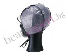 Двупластова наелонова шапка за кичури