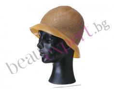 Плътна Силиконова шапка за кичури за многократна употреба.
