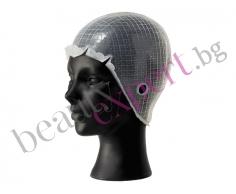 """Силиконова шапка за кичури """"Basic Cap"""" за многократна употреба ."""