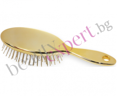BeGOLD - Златна четка за разресване на коса