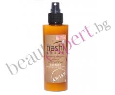 NASHI ARGAN - Хидратираща спрей маска без отмиване за лесен и бърз стайлинг 150 мл.