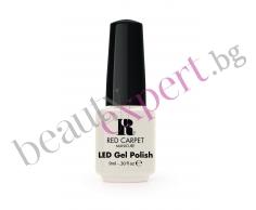 RCM - Специален гел-лак за дълготраен LED маникюр (цвят-100 white hot)