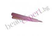 Керамична мини преса за коса (розова)