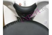 Гумен уплътнител за фризьорска измивна колона - черен