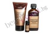 Nashi - Phyto Repair Express - Възстановяващ комплект за коса със стволови клетки и колаген