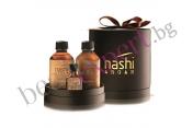 NASHI ARGAN - Специален комплект Арган - шампоан, балсам и мини арганово масло