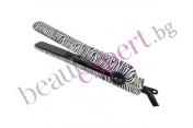 Iso Beauty - Spectrum Pro - Преса за изправяне на коса с дизайн на зебра