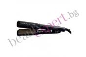 Iso Beauty - Zig Zag - Преса за коса и оформяне на вафлички с тормалиново покритие