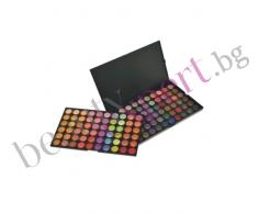 Make-Up - Палитра с 120 цвята сенки за очи
