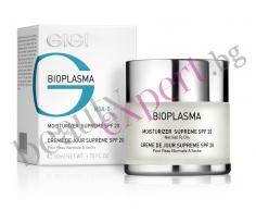 Хидратиращ крем за лице с SPF 20 за нормална до суха кожа GIGI - BIOPLASMA