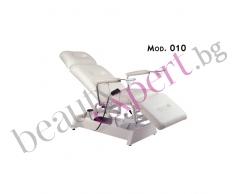 Carema - Козметично легло с електрическо регулирано - модел 010
