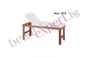 Carema - Дървено мaсажно легло - бук - модел 015
