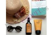 NASHI ARGAN SUN - Комплект слънцезащита с възстановяваща маска и масло за тяло