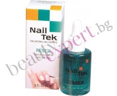 Nail Tek - Подхранващо масло за кожички с антибактериално и противогъбично действие - 15 мл.