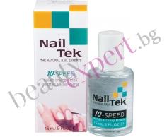 """Nail Tek - """"10-Speed"""" - Изсушаващи капки за лак"""