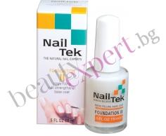 Nail Tek - Основа 2 - за меки и белещи се нокти