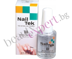 Nail Tek - Формула 3 - Защита плюс - за сухи и чупливи нокти