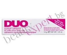 """""""DUO"""" - Лепило за цели мигли и чувствителни очи - черно - 14 гр."""