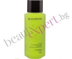 ACADEMIE - Почистващ гел-демакиант за мазна кожа