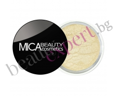 MICA Beauty - Минерални сенки за очи - Всекидневна гама - Lemon ice