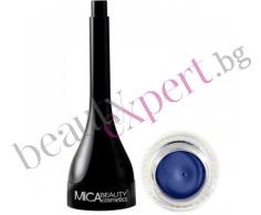 MICA Beauty - Минерална гел очна линия - Blue