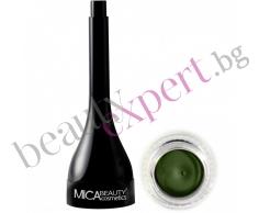 MICA Beauty - Минерална гел очна линия - Green