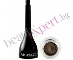 MICA Beauty - Минерална гел очна линия - Bronze