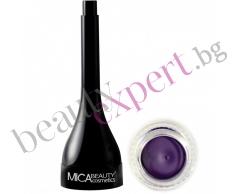 MICA Beauty - Минерална гел очна линия - Purple