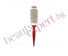 BIFULL - Четка за сушене на коса от червено дърво №32