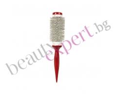 BIFULL - Четка за сушене на коса от червено дърво №38