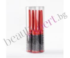BIFULL - Комплект червени четки за  сушене 5бр