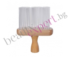 BIFULL - Четка за почистване на врат с дървена дръжка