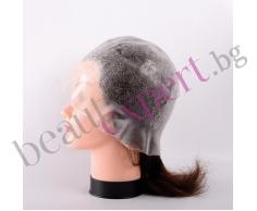 BIFULL - Силиконова шапка за кичури с флорален мотив