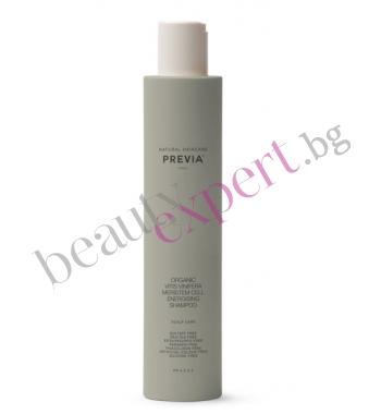 Previa - Energising Shampoo – Органик енергизиращ шампоан със стволови клетки от червена лоза 250 мл